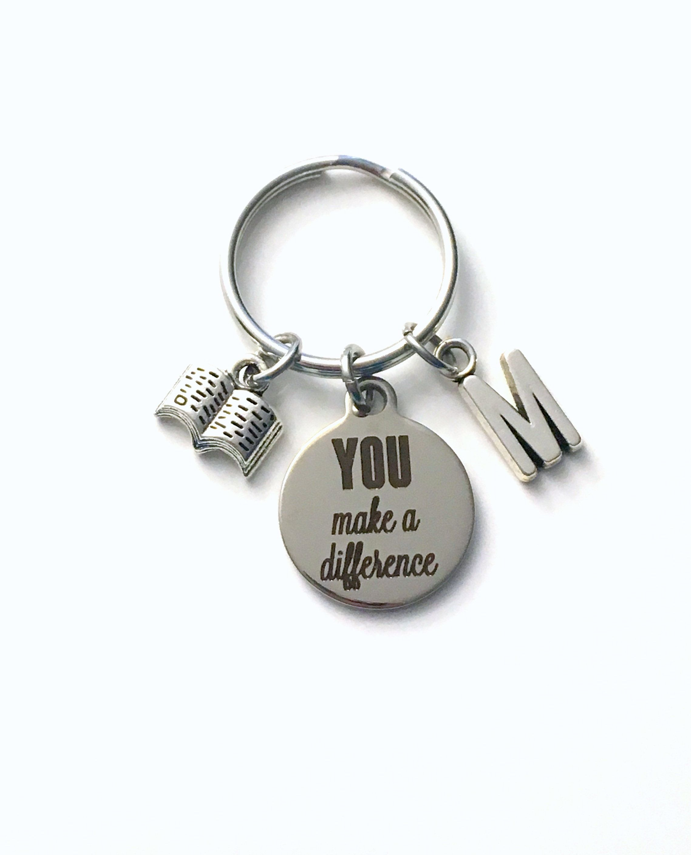 Stainless Steel Keychains Keyring Silver Inspiration Word Xmas Gifts For Her Him