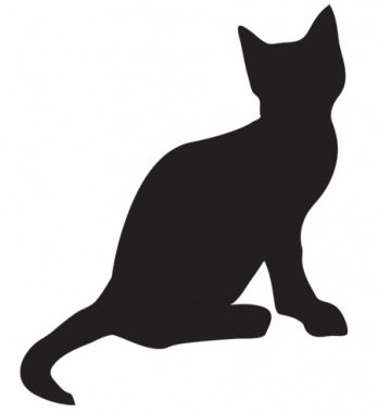 cat stencil; Easy Halloween Crafts, Favors and Games - Parenting.com