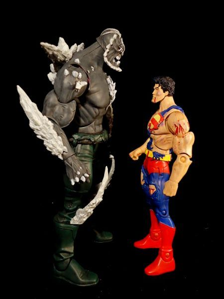 Dcuc Doomsday Dc Universe Custom Action Figure Custom Action