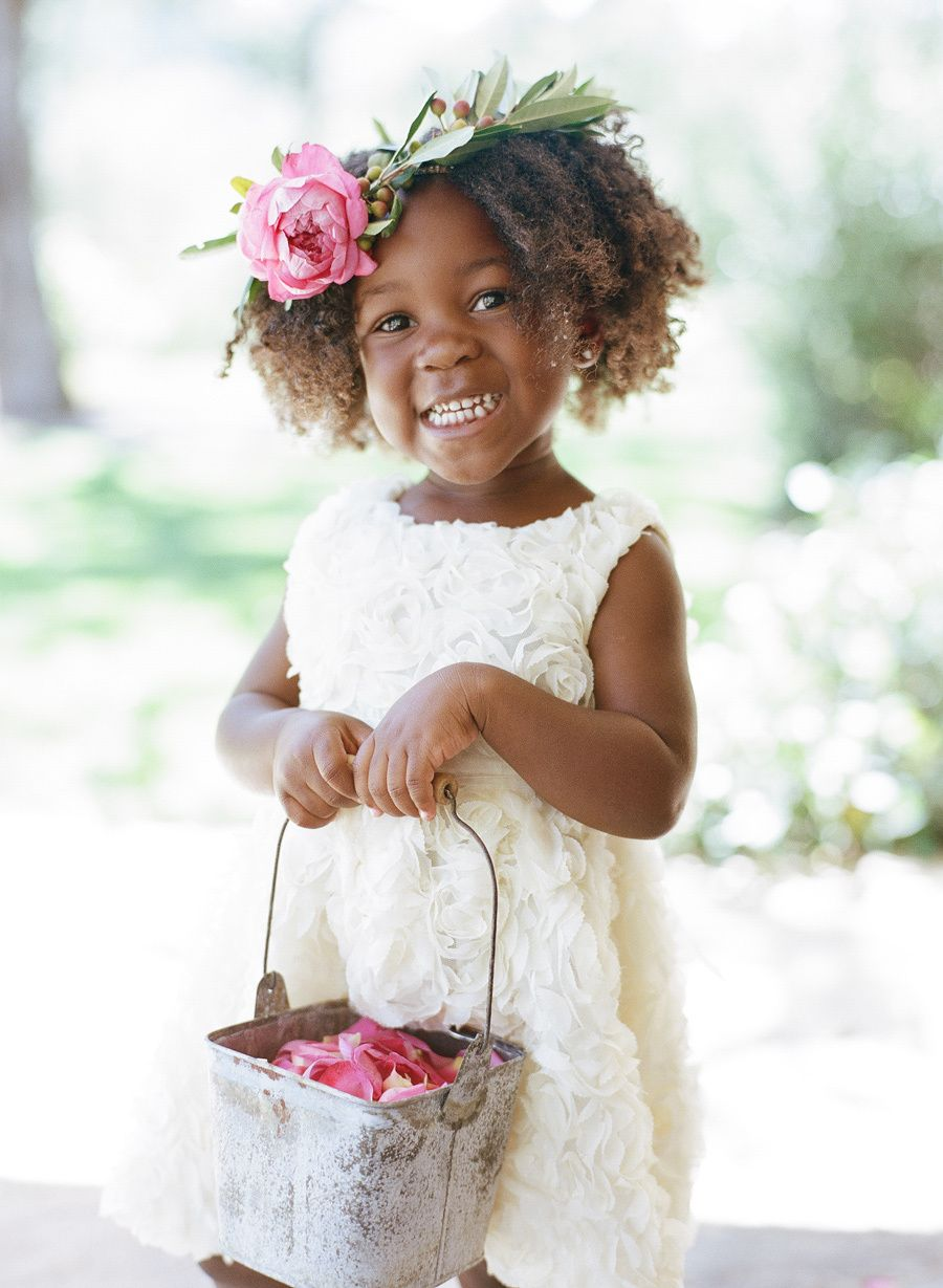 Attractive Black Little Girl Hairstyles For A Wedding Photos - The ...