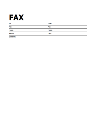 Blank Fax Cover Sheet Template Fax Cover Sheet 9  Christmas  Pinterest  Free Printable And Craft