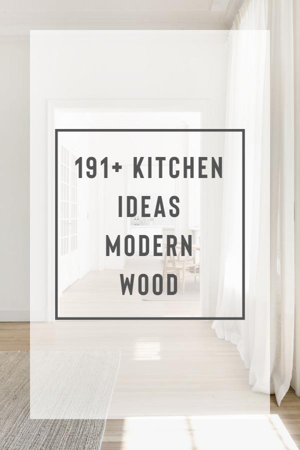 191+ Kitchen Ideas Modern Wood House O House O is a minimalist renovation located in Brasschaat, Belgium designed by Hans Verstuyft Architecten - Minimalist White Living Space #homedecor #whitewalls #whitehome