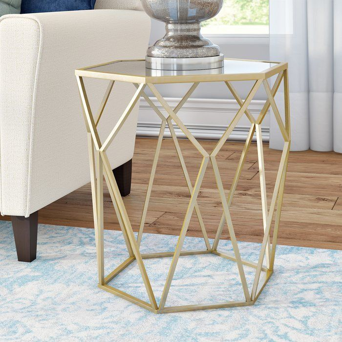 Shop Allmodern For Modern And Contemporary Gold End Accent