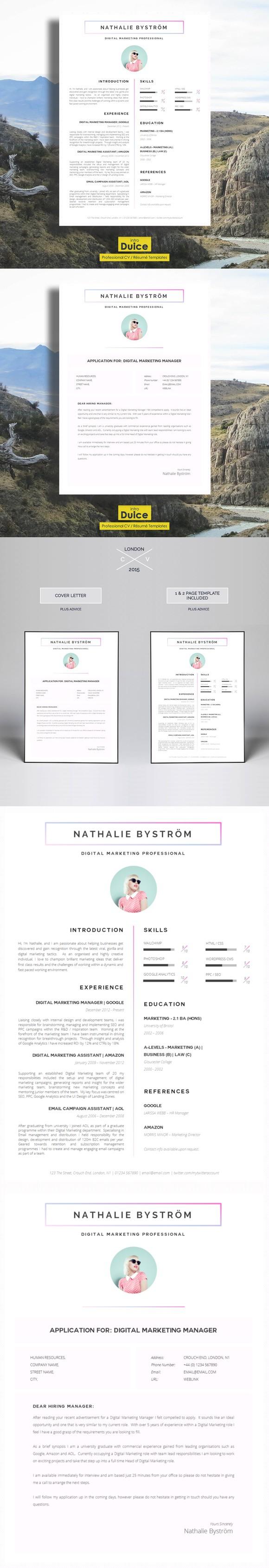 Cv Template Cv Template Perfect Resume Resume Template Professional