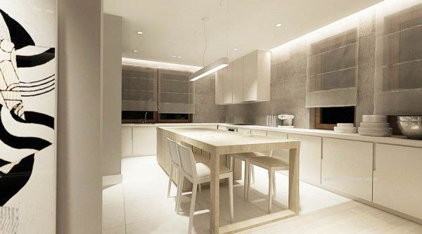 Cocina americana con barra, funcionalidad en tu hogar. | Aragon and ...