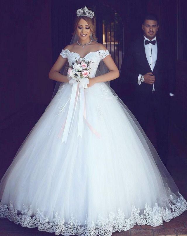 Ball Gown Wedding Dresses | Traum hochzeitskleider, Hochzeitskleider ...