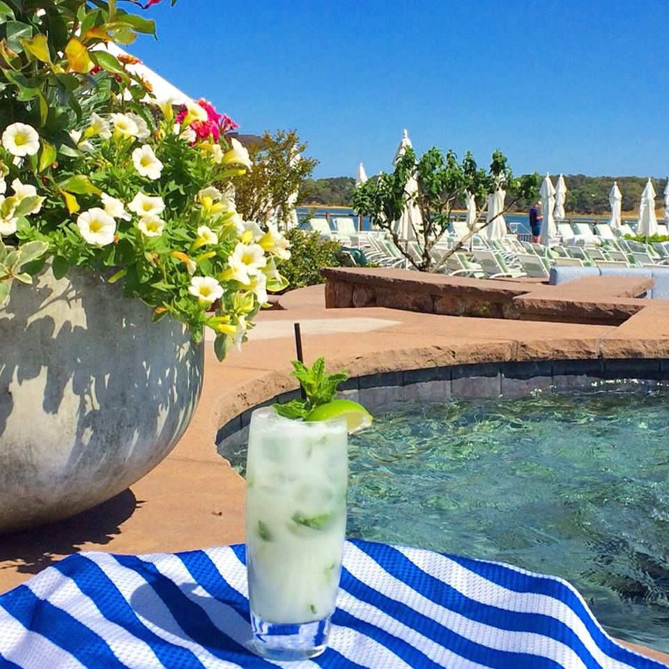 Poolside Mojito At The Wequassett Inn, Orleans, Cape Cod