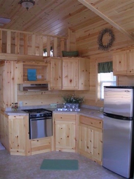 Kitchen In 2019 Small Cabin Kitchens Tiny House Cabin