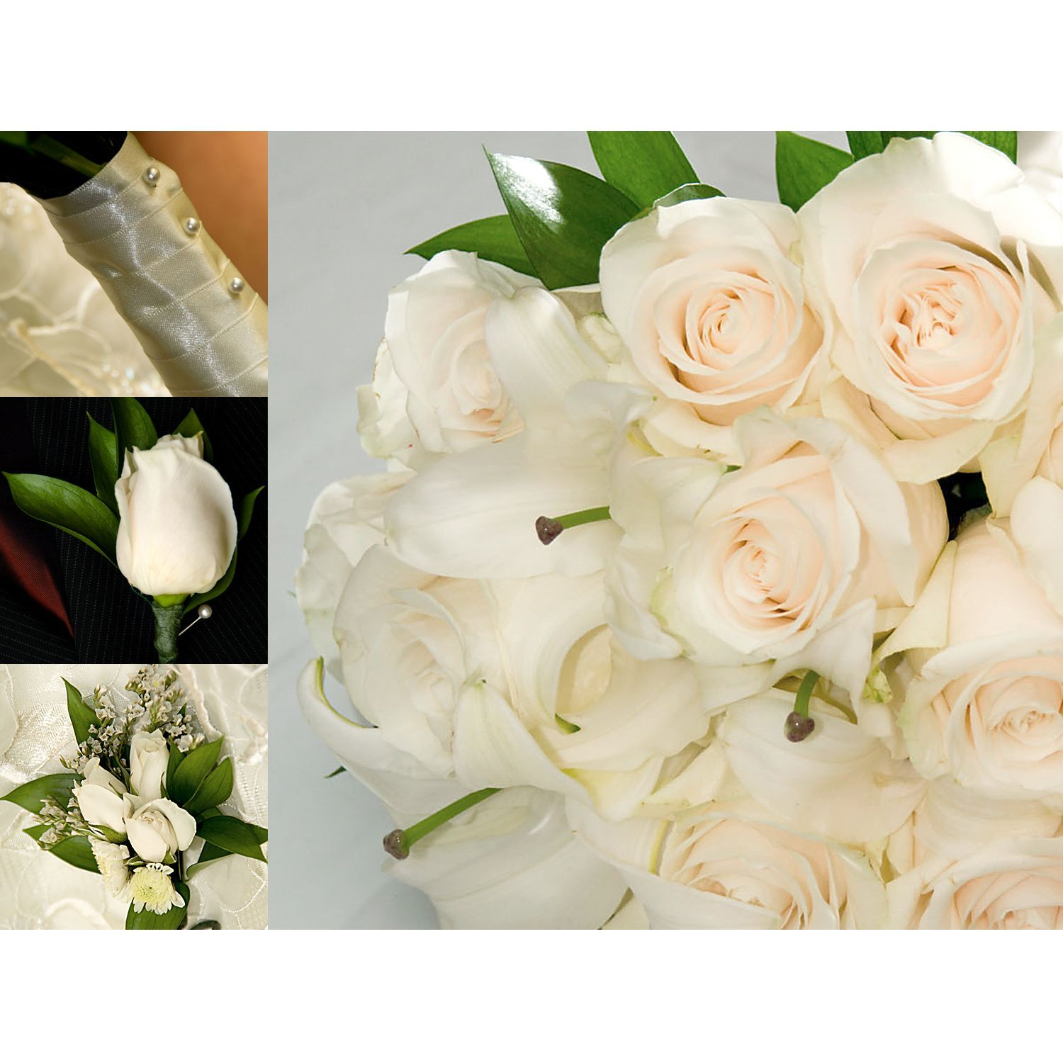 Wedding Collection White With Images Bulk Wedding Flowers Wedding Flower Guide Boho Wedding Flowers
