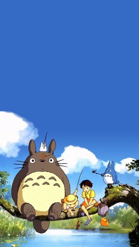 Totoro!! #wallpaper #animacao #totoro #desenho #anime #movie #filme #cartoon #infantil #children