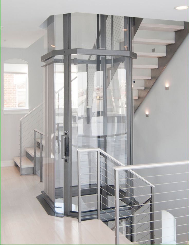 The Visilift Octagonal Elevator Provides An Attractive