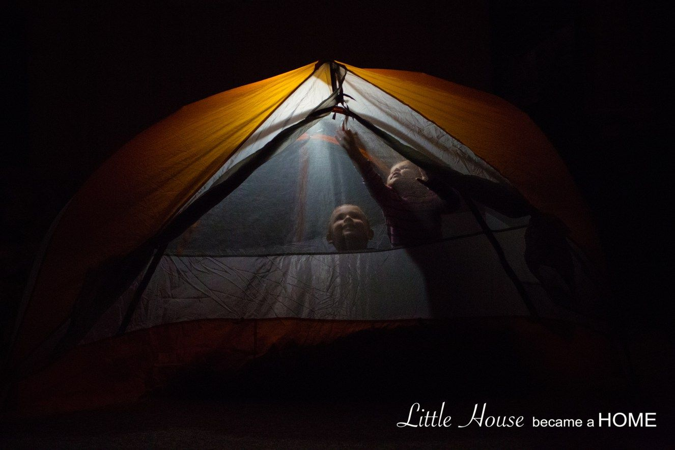 Camping In The Basement Perfect Activity For Preschool