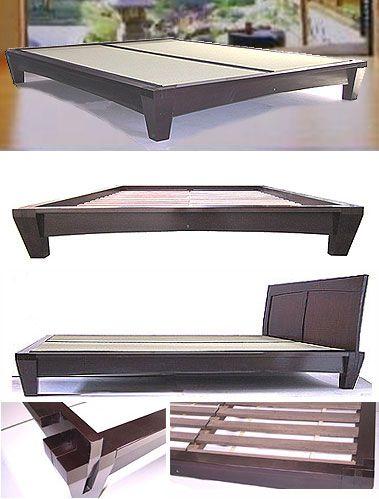 where to buy Japanese bed frames   Platform Beds - Low Platform Beds ...