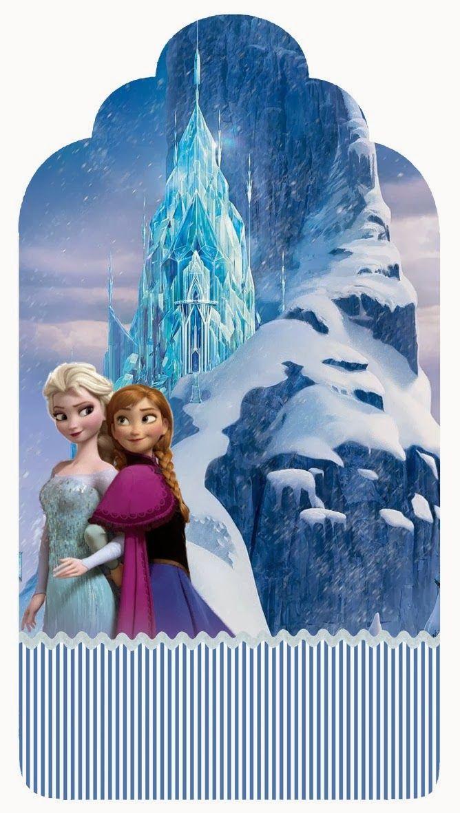 Kit De Festa Frozen Para Imprimir Uma Aventura Congelante Con
