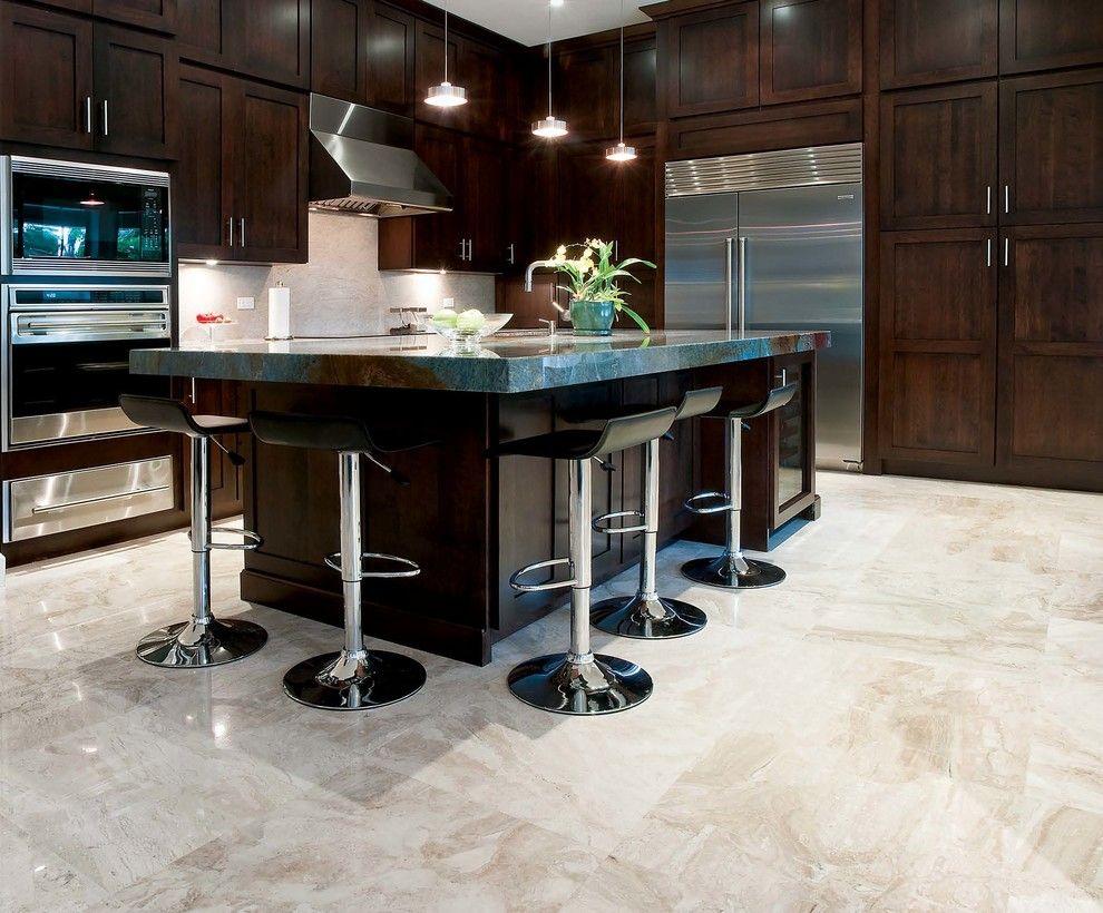 Large tile kitchen floor google search floors pinterest large tile kitchen floor google search dailygadgetfo Images