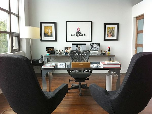 Superb 20 Home Office Decorating Ideas For A Cozy Workplace
