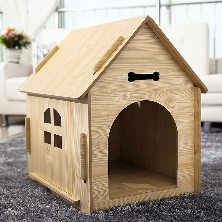 Kennel Real Small And Medium Dog House Outdoor Wood Mutaidi Wood