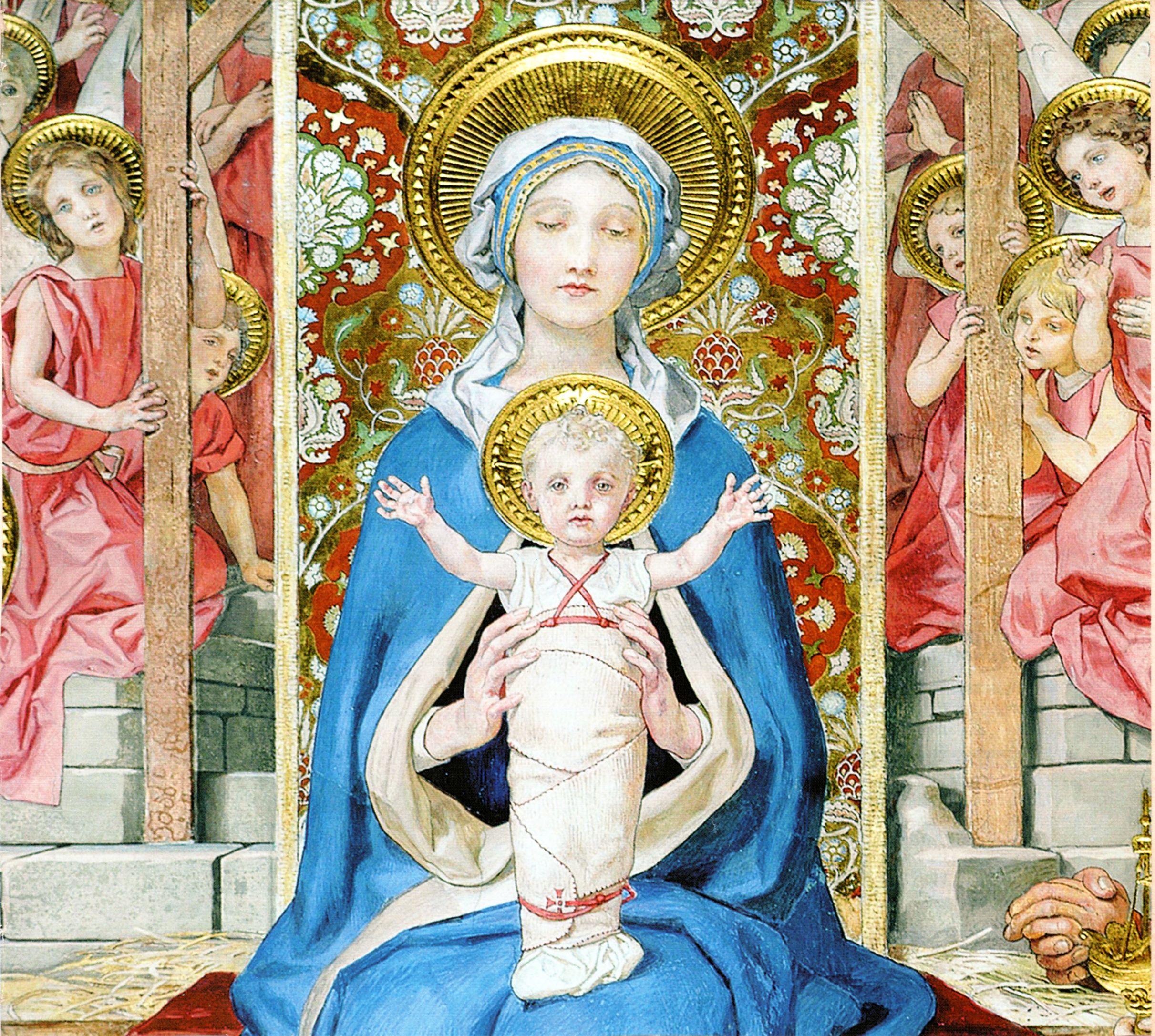 Pin De Andres En Maria Santisima Virgen María Imágenes Religiosas Niño Jesus