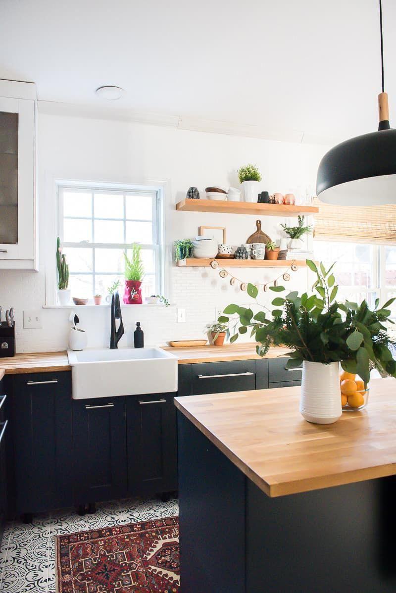 Kitcheninteriordesign Umbau kleiner küche, Dunkle
