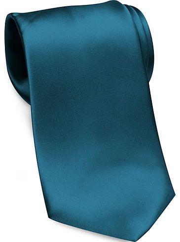 Ties - Joseph & Feiss Gold Narrow Washable Extra Long Tie ...