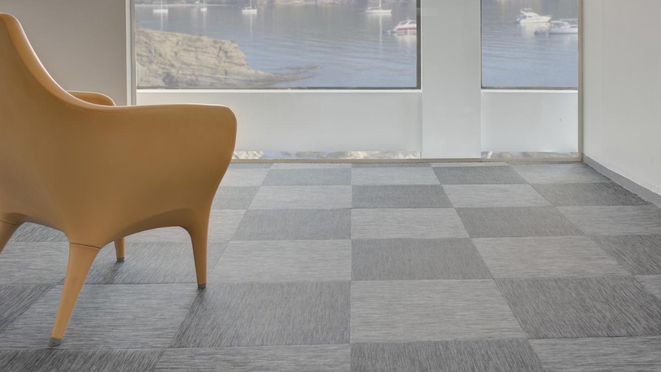 FITNICE ® Woven vinyl flooring. #architecture #design #arquitectura #floor #vinyl #flooring