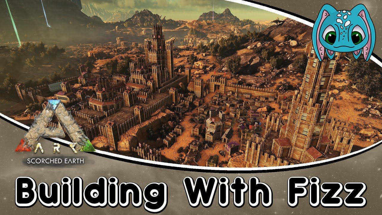 ARK: Scorched Earth Building w/ Fizz :: The Jerboa Kingdom! (No