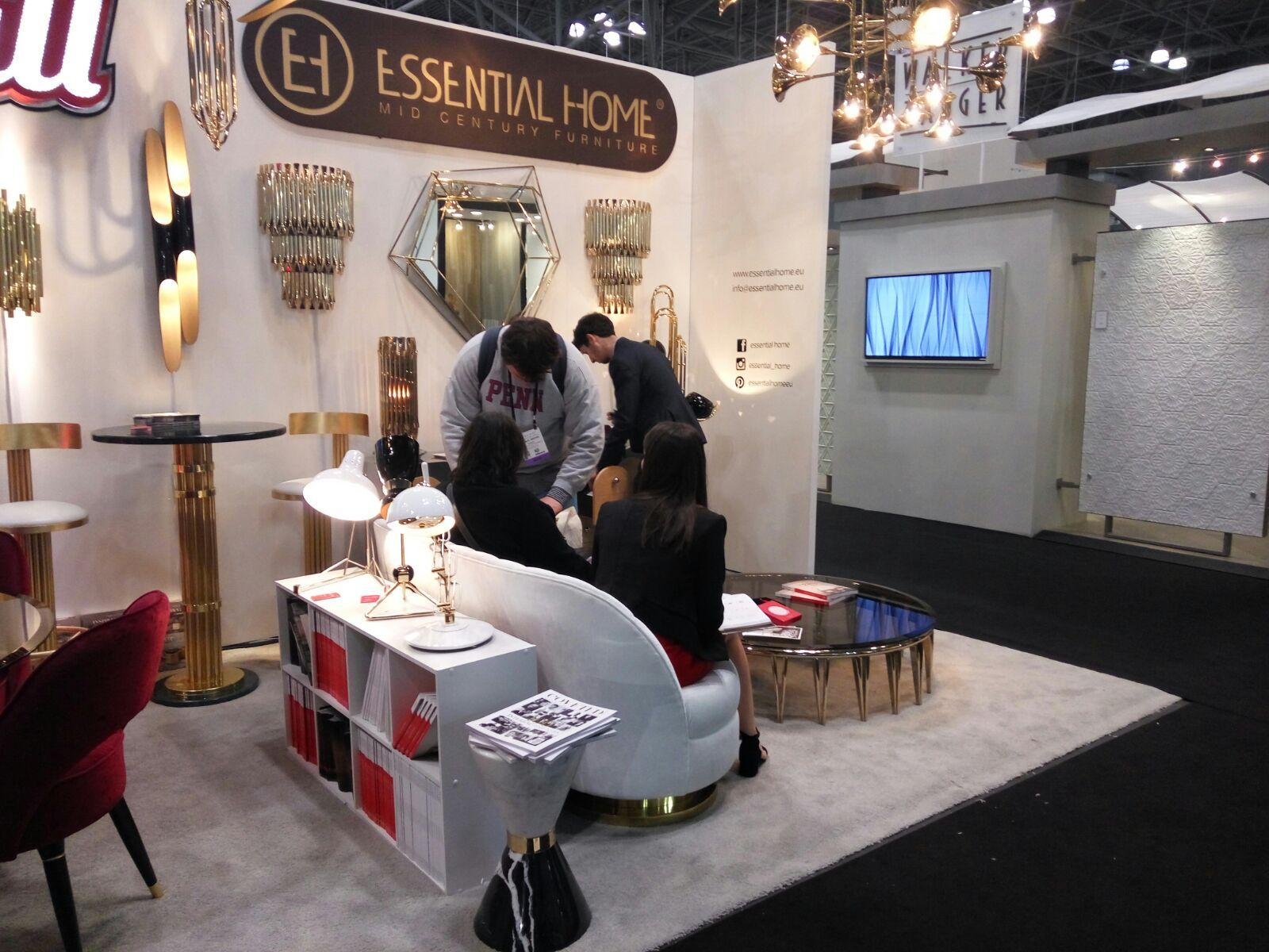 Covet House  Modern Luxury Furniture And Interior Design Exhibited At ICFF New  York City 2017