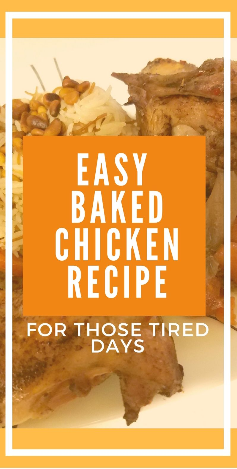 Those tired days recipe easy baked chicken arabic food and red arabic food recipe of baked chicken that is a really easy recipe to prepare on a forumfinder Image collections