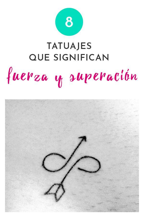 Photo of 8 tatuajes que significan fuerza y superación
