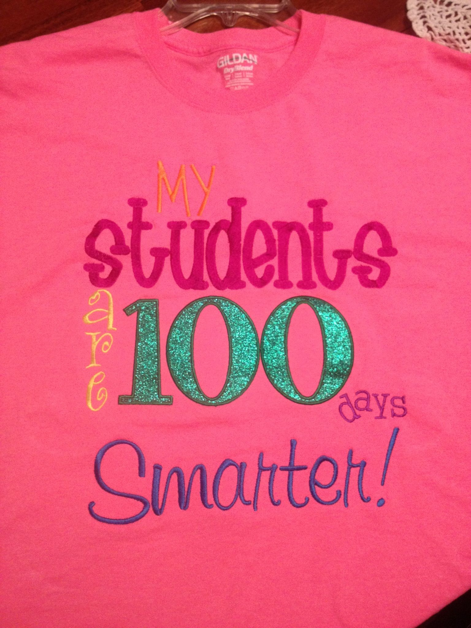 Teacher 100th Day Of School Shirt My Students Are 100 Days