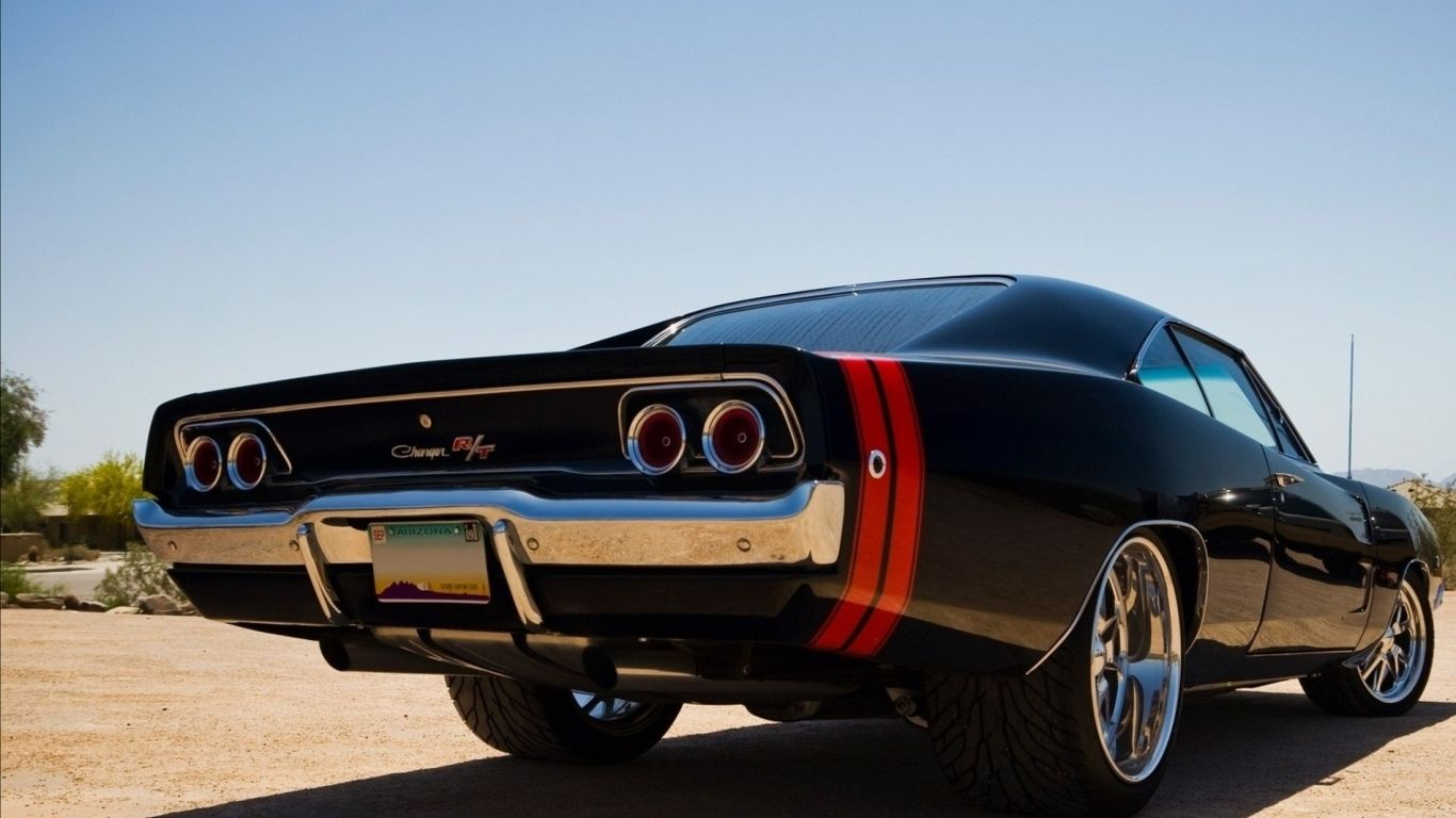 Download Wallpaper 1366x768 Muscle Cars Dodge Dodge Charger Car