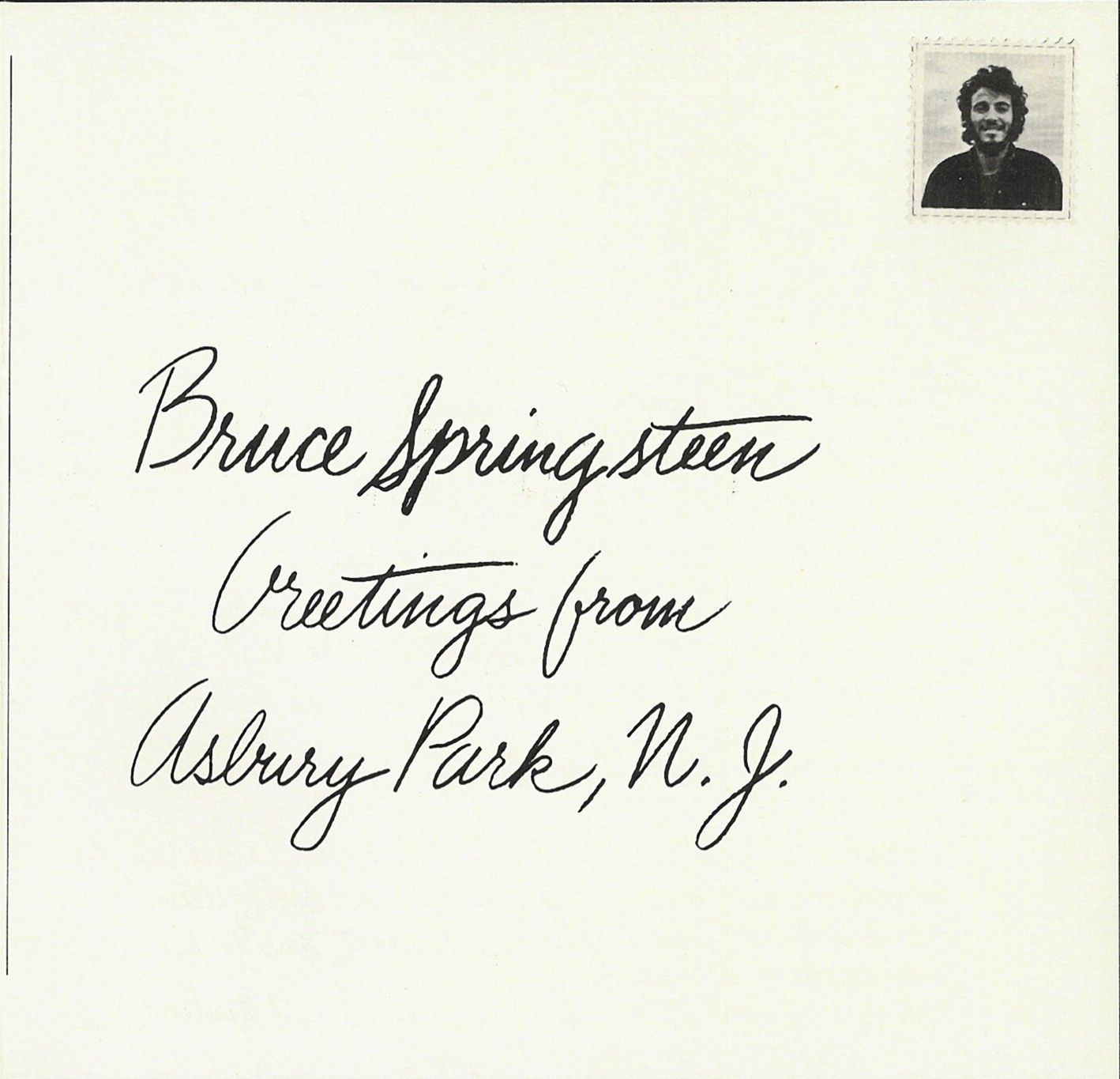 Bruce Springsteen Greetings From Asbury Park Nj 1973 Bruce