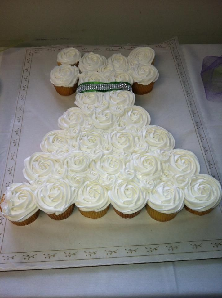 office bridal shower cupcakes