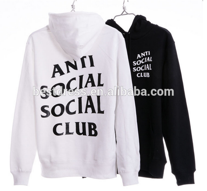 1030697e12d9 Unisex Anti social social club Sweatshirts Hoodies ASSC Pink Hoody For  Autumn and Winter robbie 123