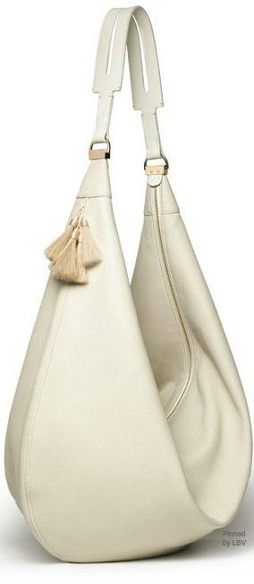 The Row Ivory Leather Cross Body Bag Habillé Chic Beautiful Handbags