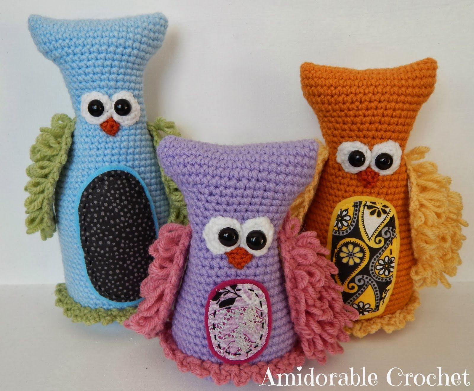 A[mi]dorable Crochet: FREE PATTERN for owls! | amigurumi | Pinterest ...