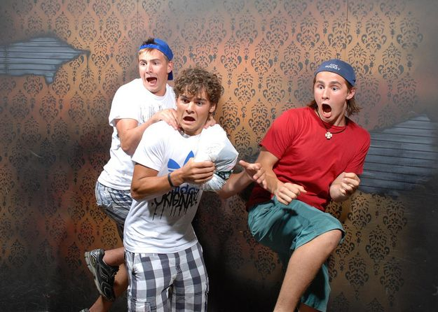 Pictures taken in a haunted house...some of these are really funny.