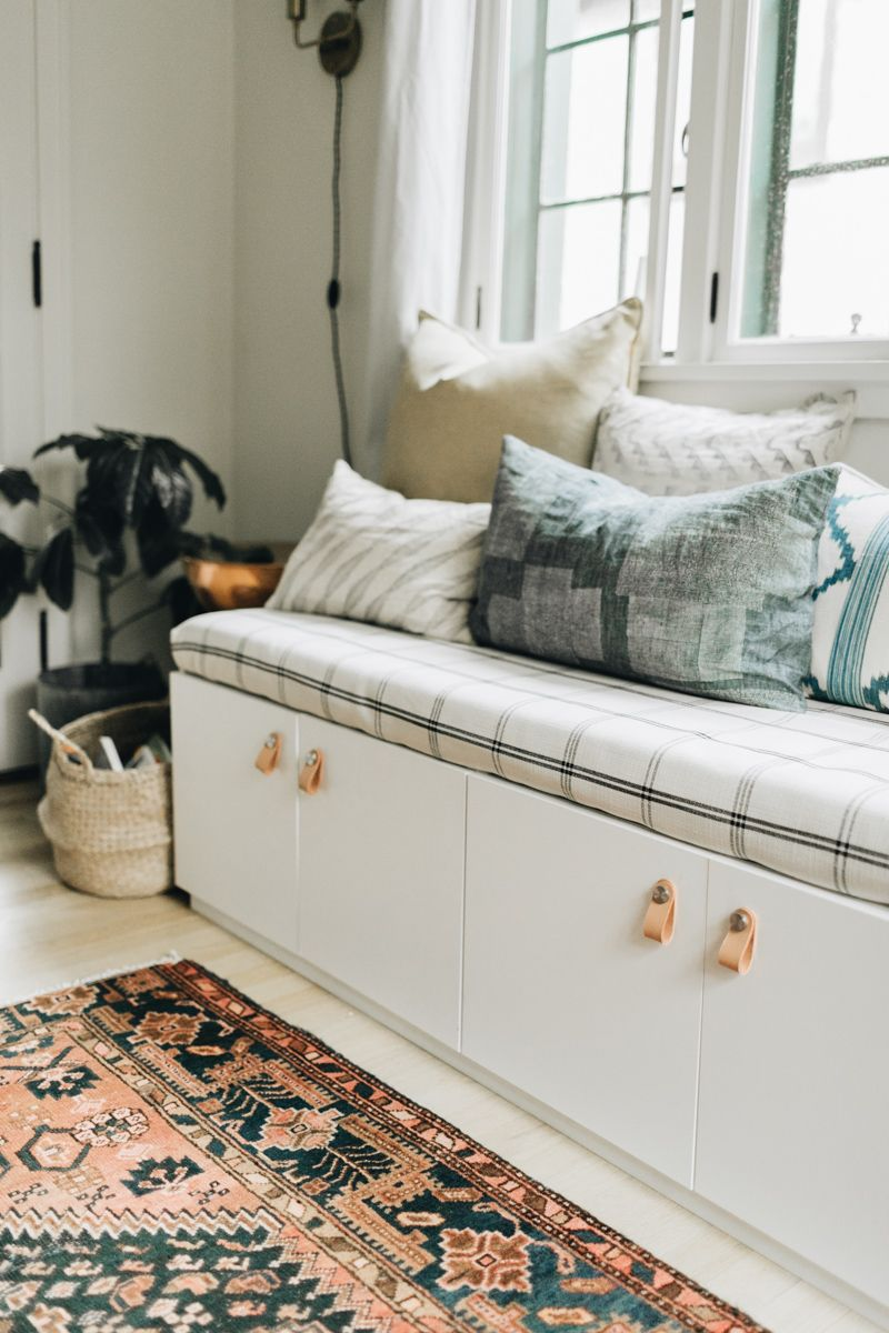 Designing a Home for a Growing Family: Part Two - The DIY Bench Edition