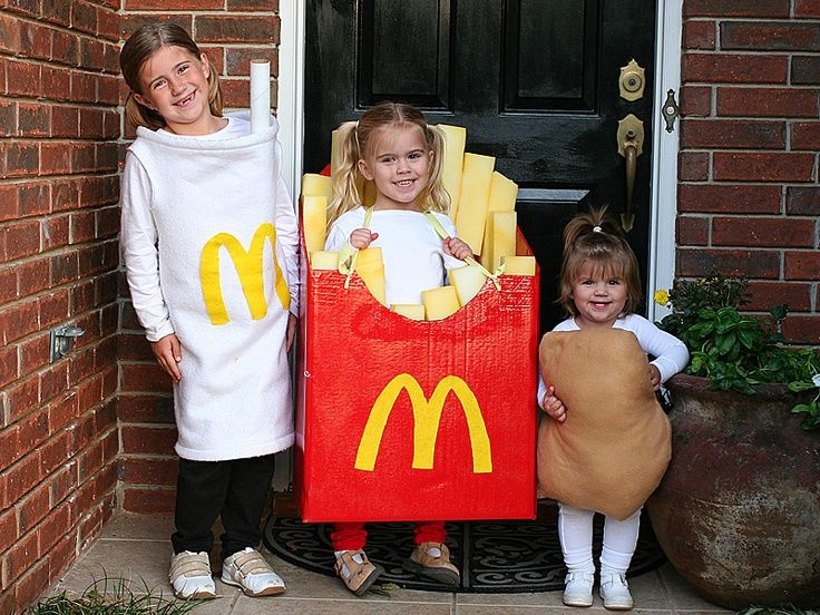 Macdonalds home made kids costume. Best Halloween costumes ever ...