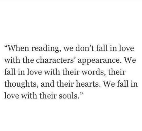 The difference between reading and watching a movie