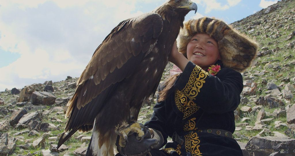 A Teenager From A Nomadic Family Bucks Gender Norms By Raising A Bird And Training It To Hunt In This Documentary Good Family Films Huntress Eagle