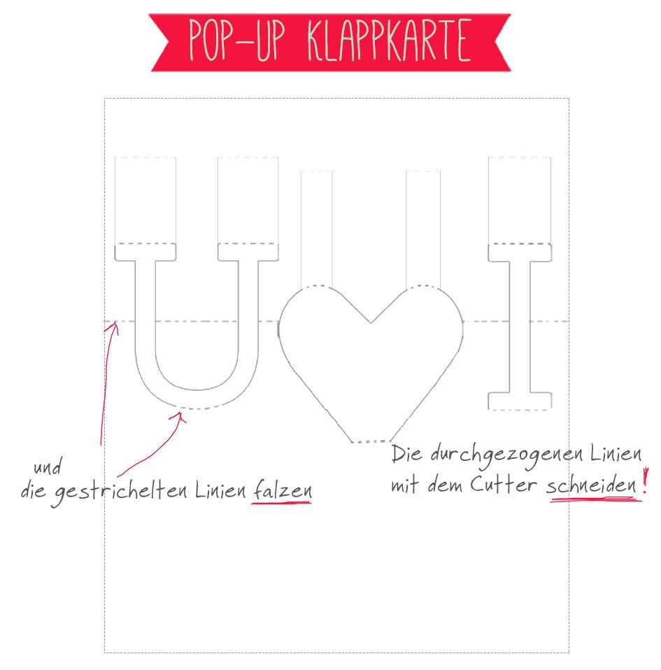 freebie auf pop up karte als liebesbeweis sch n pinterest diy. Black Bedroom Furniture Sets. Home Design Ideas