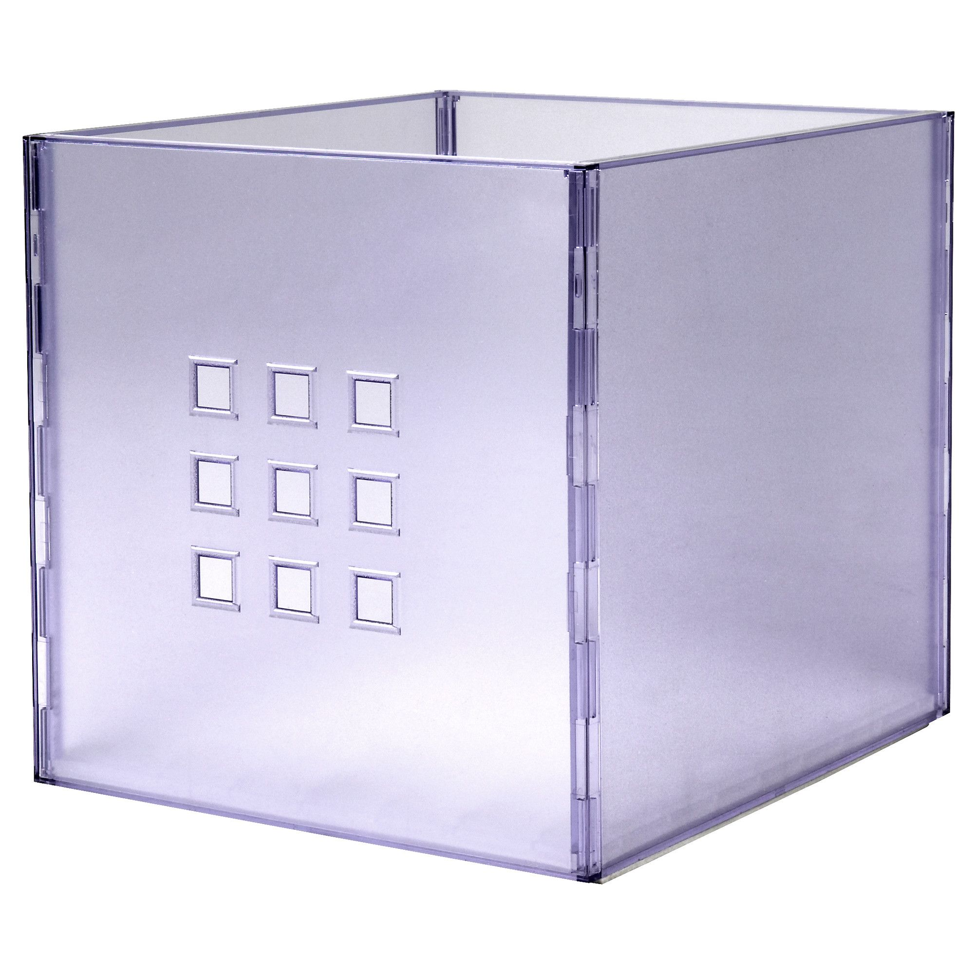 Awesome LEKMAN Box   Clear   IKEA $13   Get A Few For The Bedroom Shelving