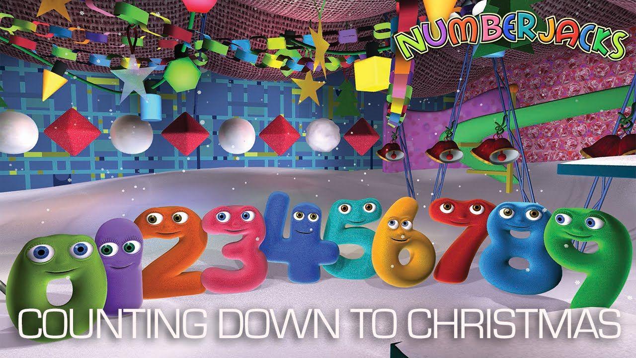 NUMBERJACKS Counting Down To Christmas 3poap6 Pinterest – Numberjacks Birthday Card