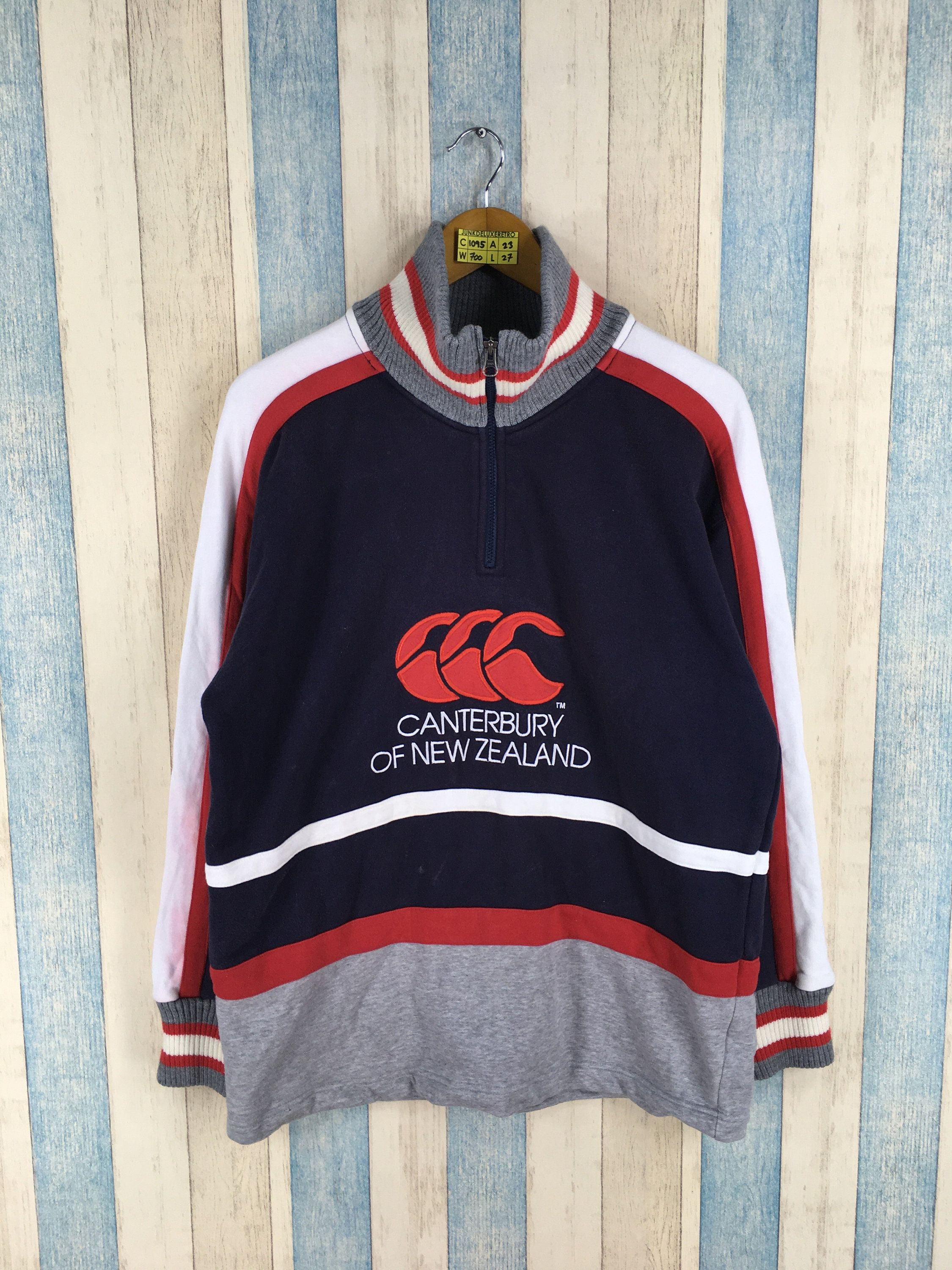 CANTERBURY Rugby Sweater Medium Vintage 90's Canterbury Of New