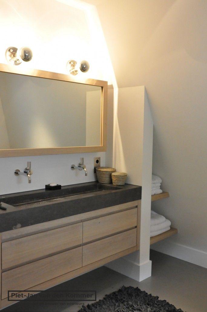 Villa Munchen - 2e badkamer wasmeubel | Badkamer | Pinterest ...