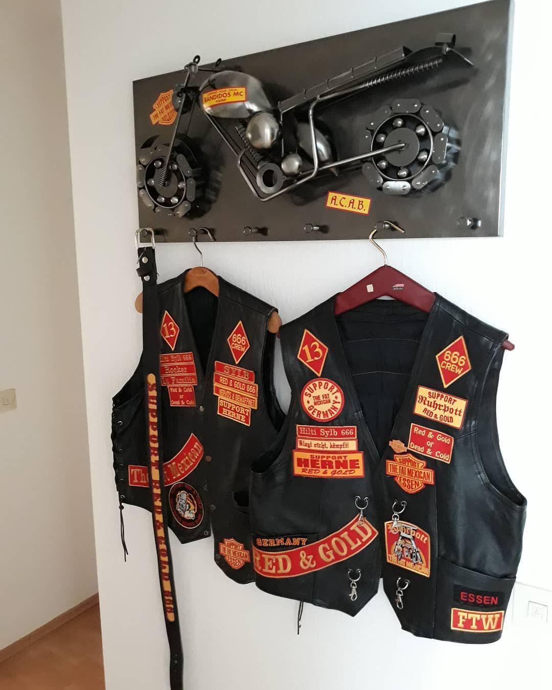 PINK Motorcycle Biker Vest Patch FTW