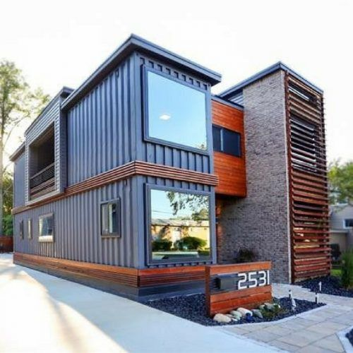 Container Home Design Ideas: ROYAL OAK SHIPPING CONTAINER HOUSE