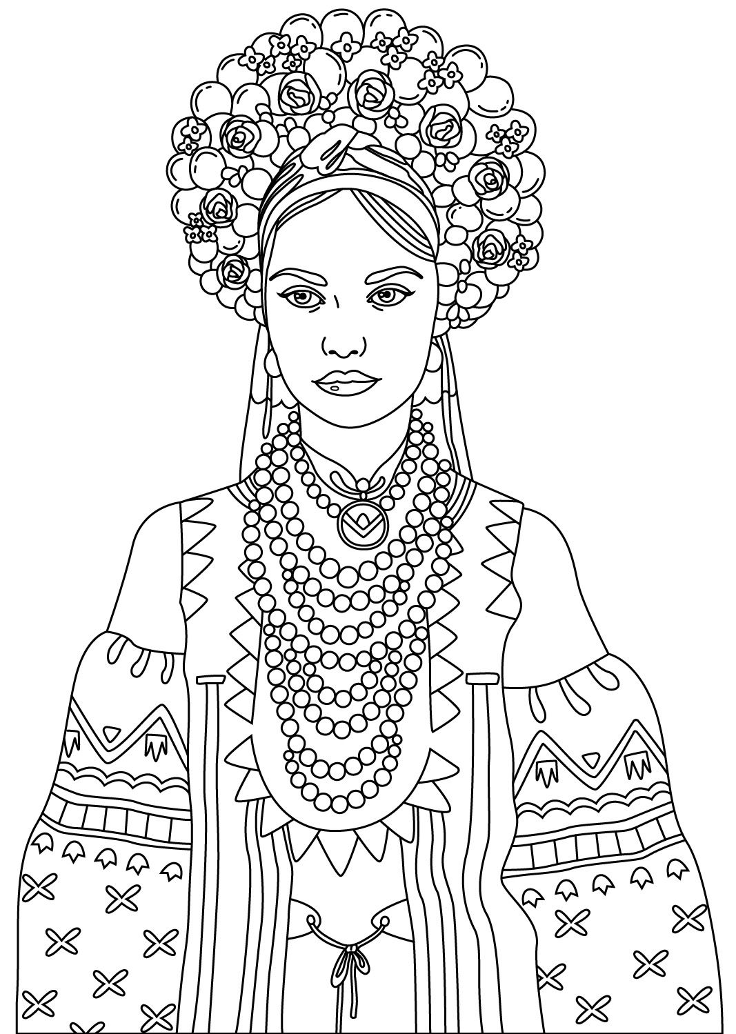 Women To Color Colorish Free Coloring App For Adults By Goodsofttech Witch Coloring Pages Coloring Pages Horse Coloring Pages