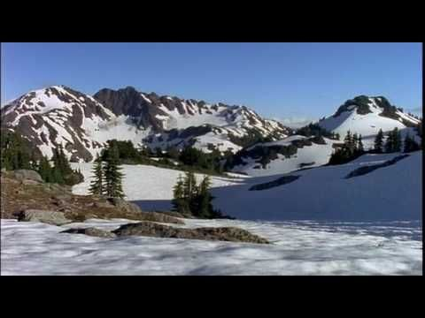 Mountain Scenery Royalty Free Footage